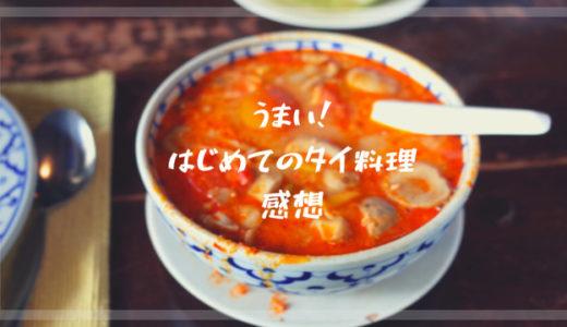 夢のバンコク食べ歩き*ずっと憧れてた本場のタイ料理の感想は?