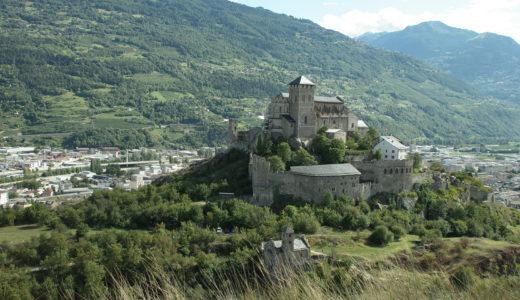 シオンに1泊*スイスの田舎町&丘の上の城から絶景満喫してみた感想
