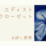 エディストクローゼットの感想【2019冬】届いた服はどんな感じ?