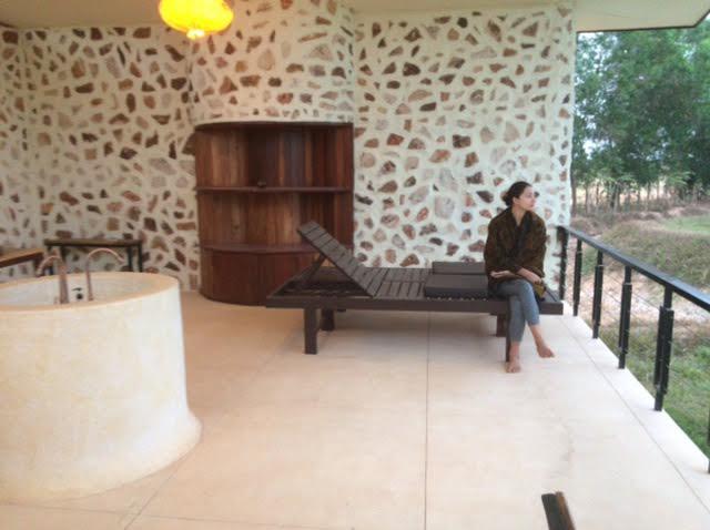 カンボジア(シェムリアップ)ヨガで訪れたプレア・ガーデンの写真