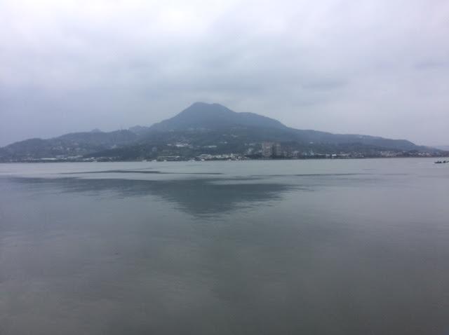 台湾の女一人旅で訪れた淡水の写真