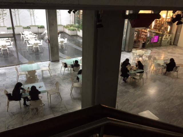 台湾ひとり旅で訪れた台北市立美術館の写真
