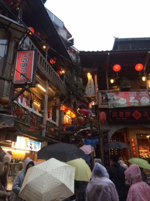 台湾の雨の日の写真