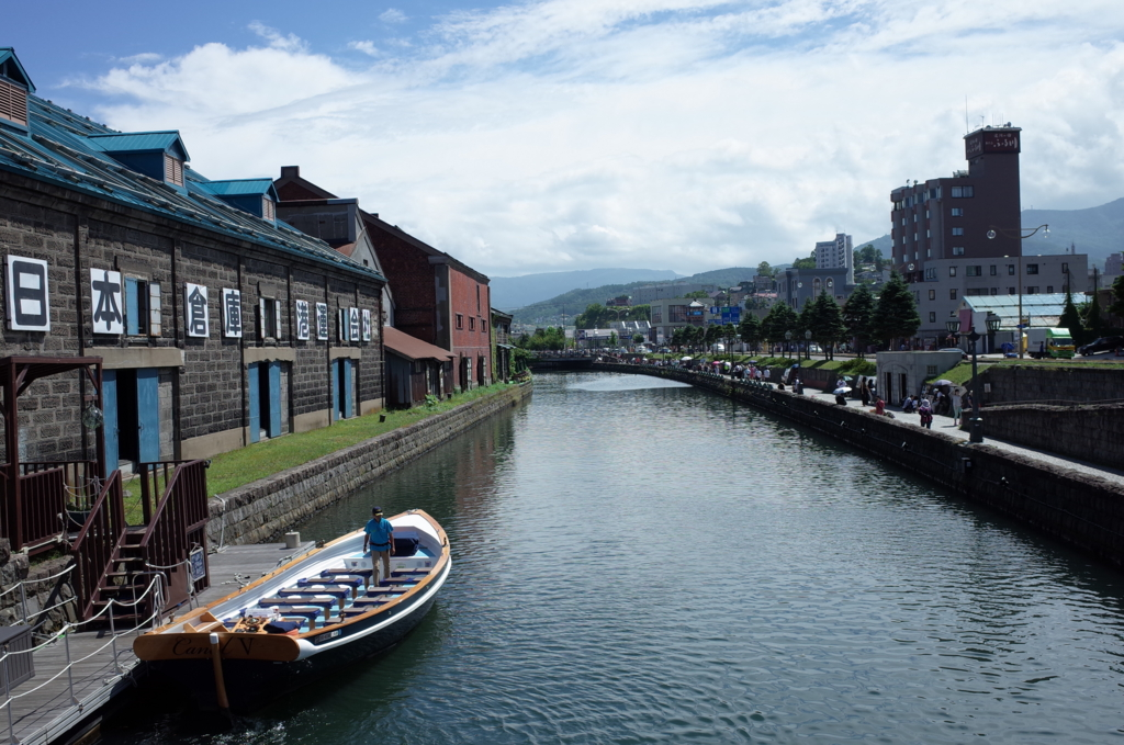 女ひとり旅の小樽でみた風景写真