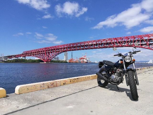 大阪でバイクの写真が撮影できるスポット「ナナガン」