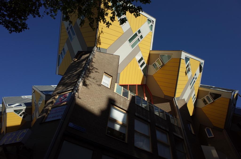 ロッテルダムでみたキュービックハウス