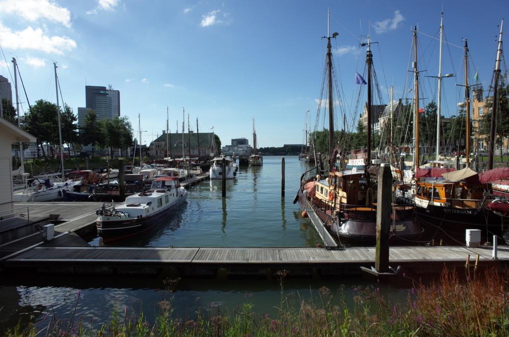 ロッテルダムの港の写真