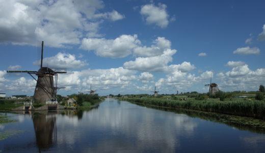 キンデルダイクの行き方*ロッテルダムから水上バスで行く方法は?