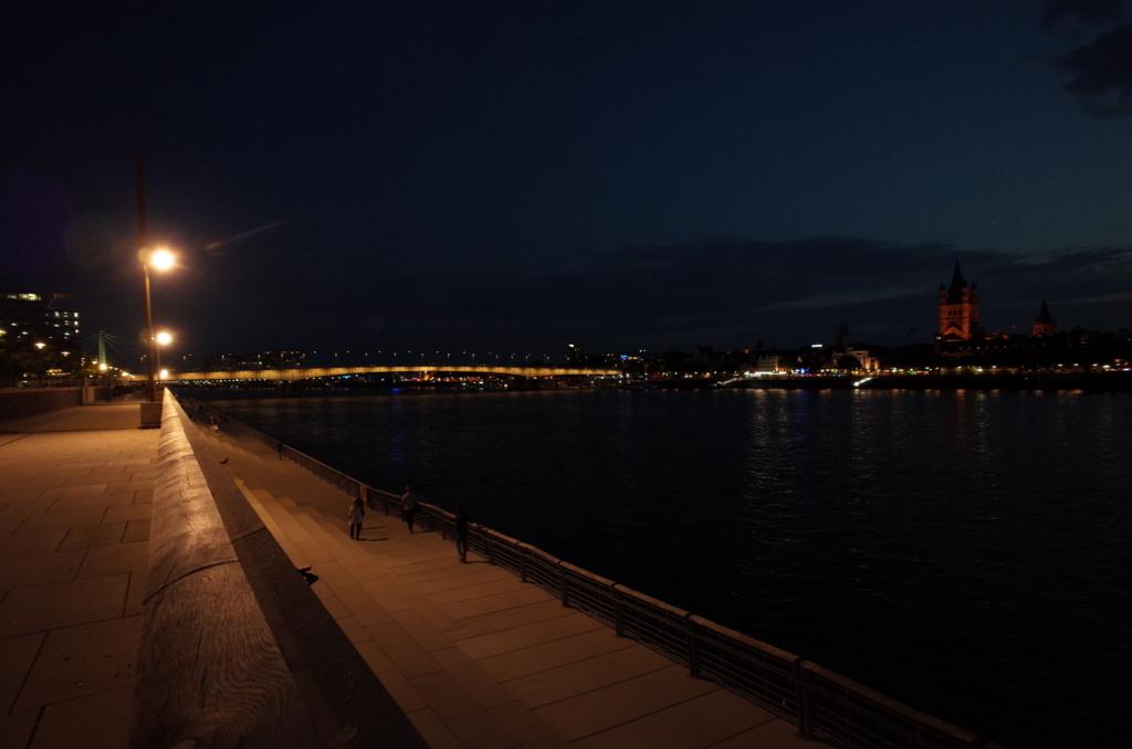 ケルンの夜景
