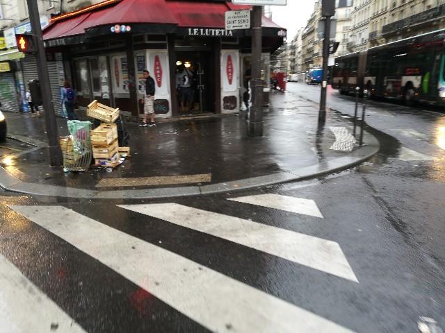 パリの治安が悪い値域の写真