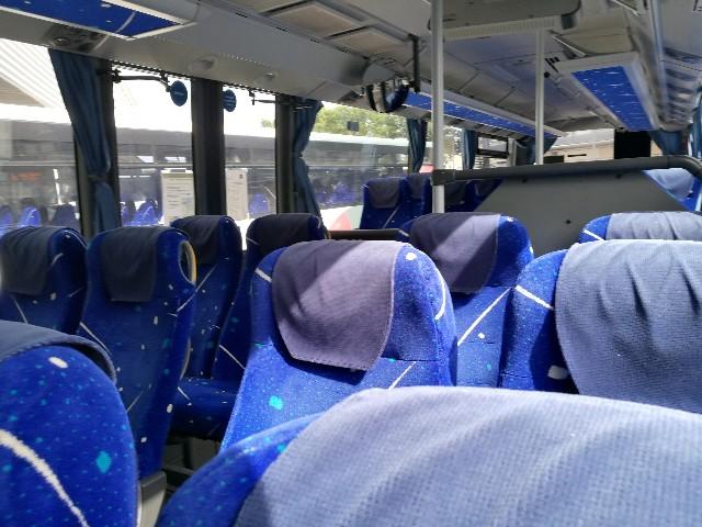 レンヌからモンサンミッシェルまでのバスの写真