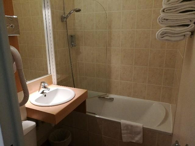 モンサンミッシェルで宿泊したホテルの写真