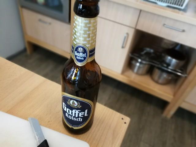 ケルンで飲んだビールの写真