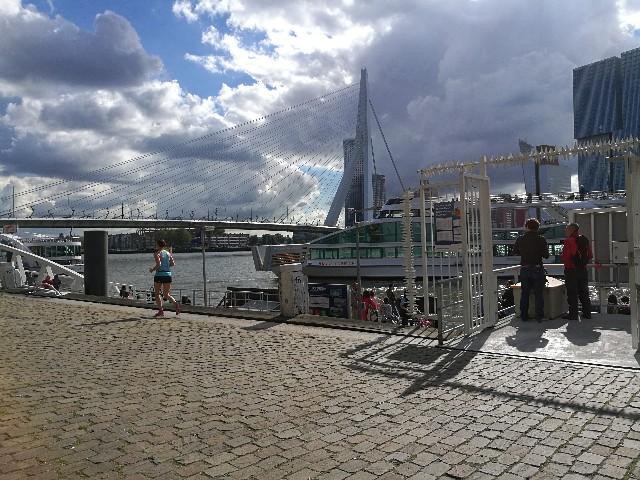 ロッテルダムのウォーターバス乗り場
