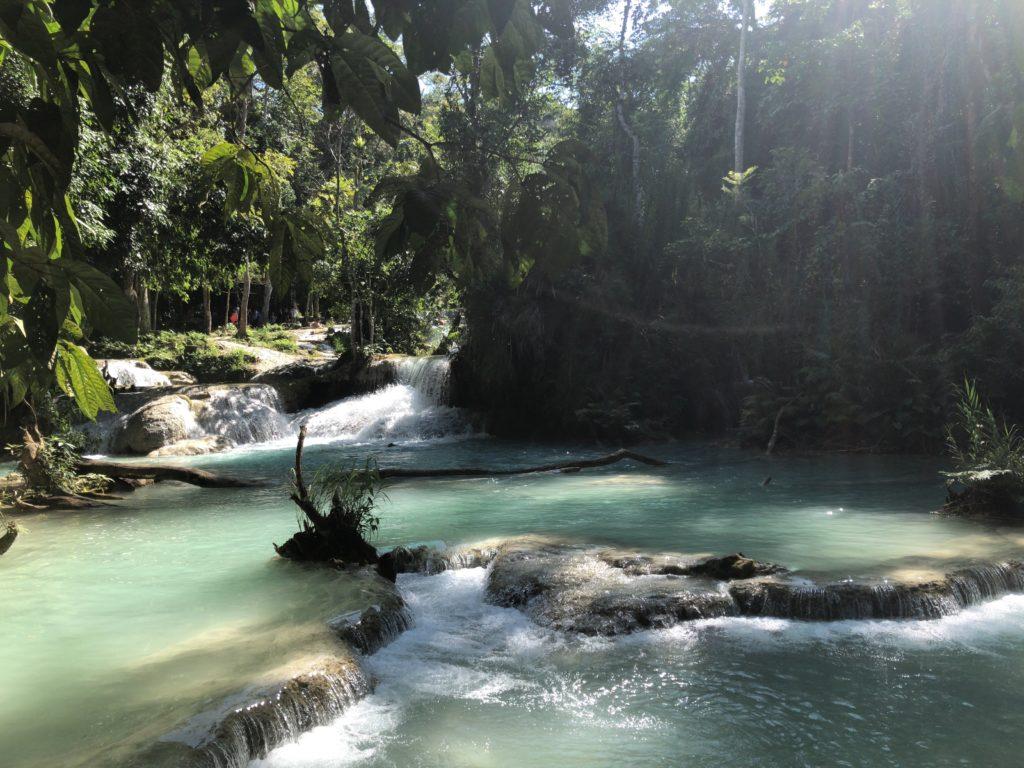 クアンシーの滝の写真