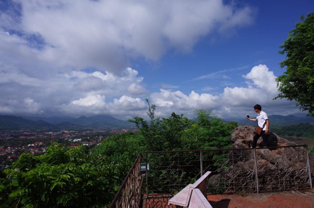 プーシーの丘の頂上の写真