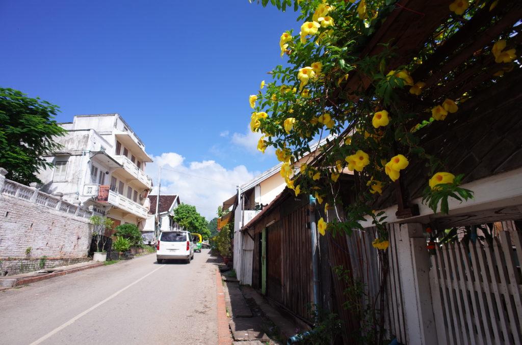 ルアンパバーンの風景写真