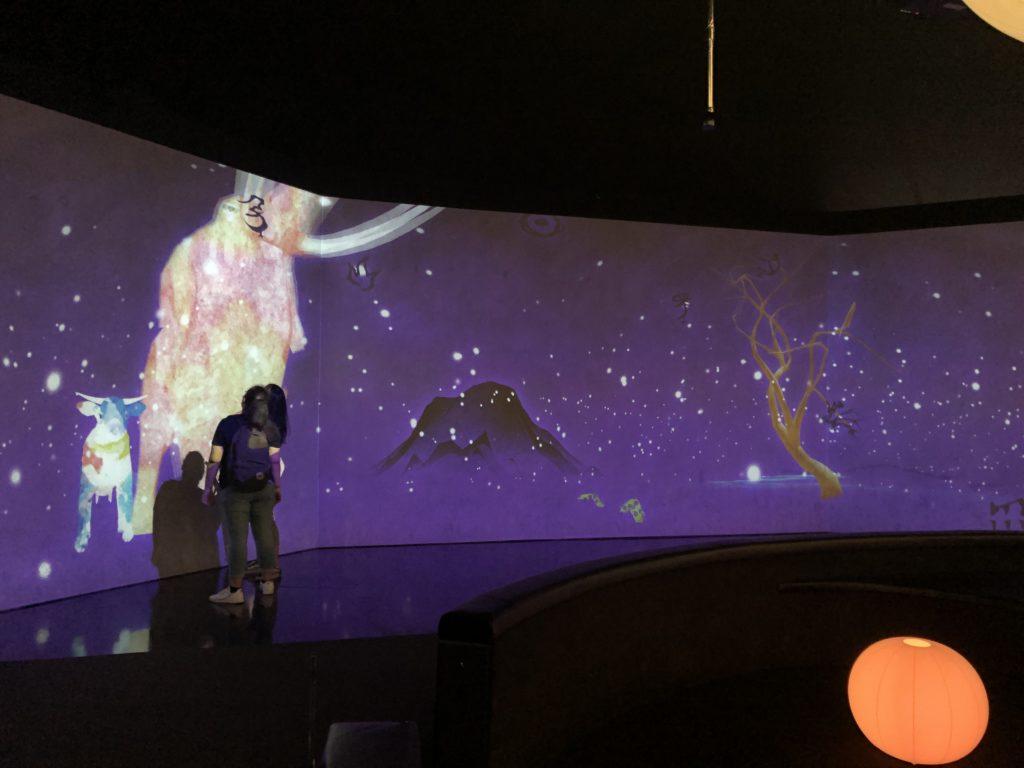 シンガポール一人旅で訪れたアートサイエンスミュージアム