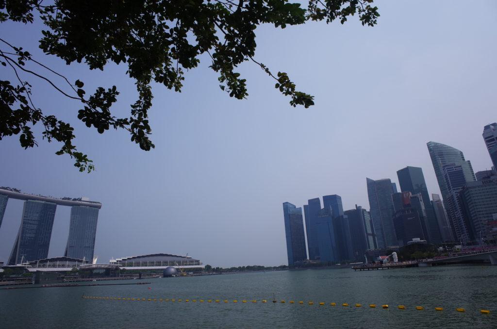 シンガポール一人旅で見た街の風景