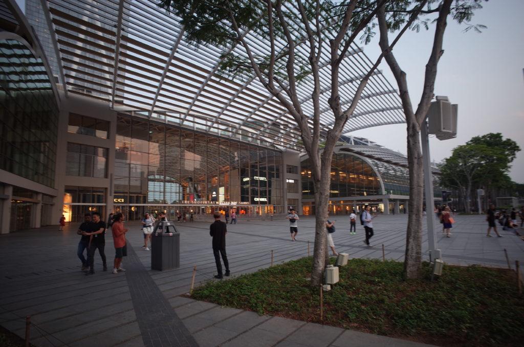 シンガポールの街の写真